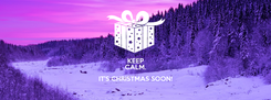 Poster: KEEP CALM. IT'S CHRISTMAS SOON!