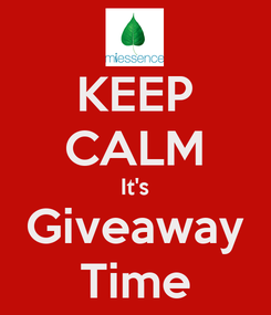 Poster: KEEP CALM It's Giveaway Time