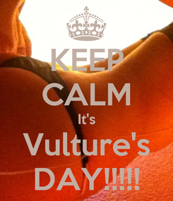 Poster: KEEP CALM It's Vulture's DAY!!!!!
