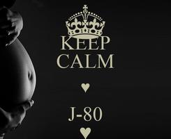 Poster: KEEP CALM ♥ J-80 ♥