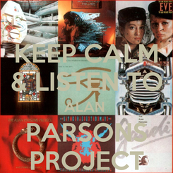 Poster: KEEP CALM & LISTEN TO ALAN  PARSONS PROJECT