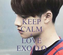 Poster: KEEP CALM & LOVE EXO D.O