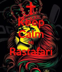 Poster: Keep Calm Mi Rastafari