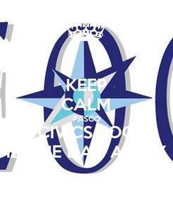 Poster: KEEP CALM PASCO CIVICS EOC IS ONE DAY AWAY
