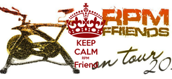 Poster: KEEP CALM RPM  Friend