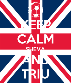 Poster: KEEP CALM SHEVA AND TRIU