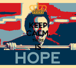 Poster: KEEP CALM, THERE IS