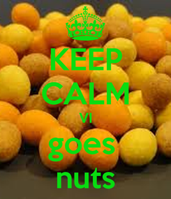 Poster: KEEP CALM VI goes  nuts