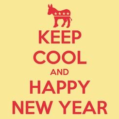 Poster: KEEP COOL AND HAPPY NEW YEAR