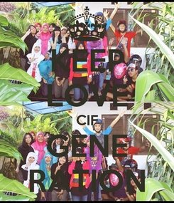 Poster: KEEP LOVE CIF GENE RATION