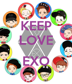 Poster: KEEP LOVE  EXO