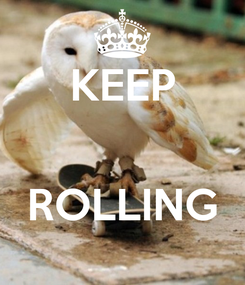Poster: KEEP   ROLLING