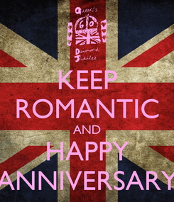 Poster: KEEP ROMANTIC AND HAPPY ANNIVERSARY