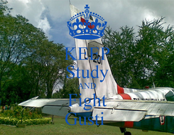 Poster: KEEP Study AND Fight Gusti