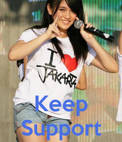 Poster:    Keep Support