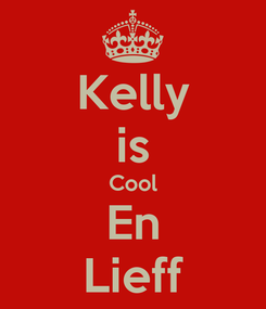 Poster: Kelly is Cool En Lieff