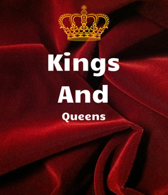 Poster: Kings And Queens
