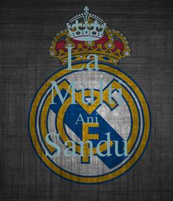 Poster: La  Multi Ani Sandu