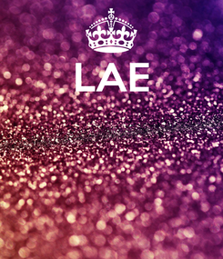 Poster: LAE