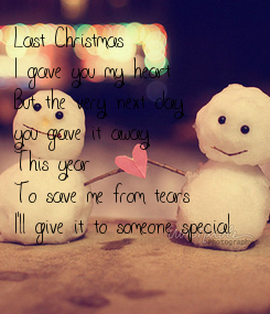 Poster: Last Christmas 