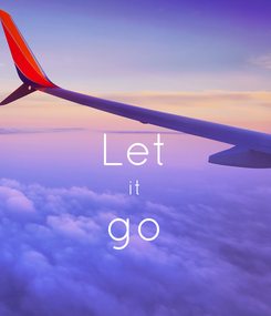 Poster:  Let it go