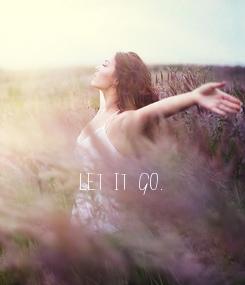 Poster: Let it go.