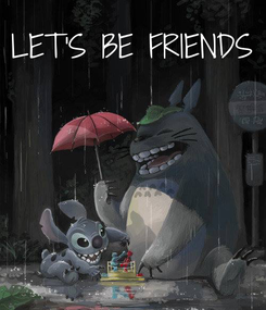 Poster: LET'S BE FRIENDS