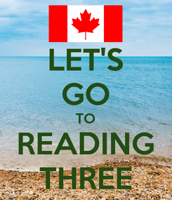 Poster: LET'S GO TO READING THREE