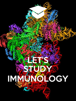 Poster:   LET'S STUDY IMMUNOLOGY
