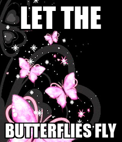 Poster: LET THE BUTTERFLIES FLY