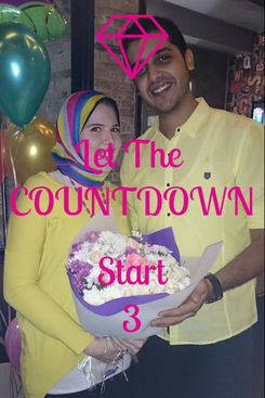 Poster: Let The  COUNTDOWN  Start 3
