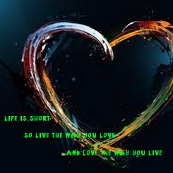 Poster: life is short