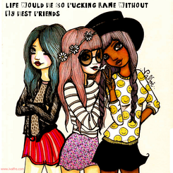 Poster: life Would Be So Fucking Lame Without 