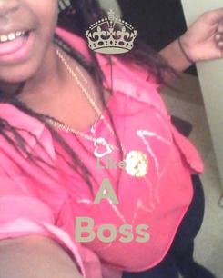 Poster:   Like A  Boss