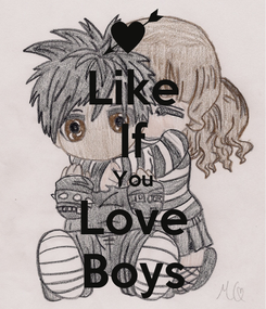 Poster: Like If You Love Boys