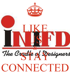Poster: LIKE US & STAY CONNECTED