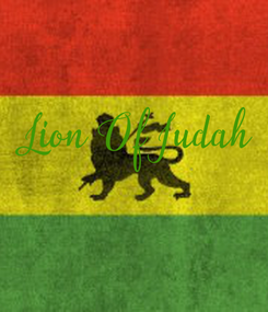 Poster:  Lion Of Judah