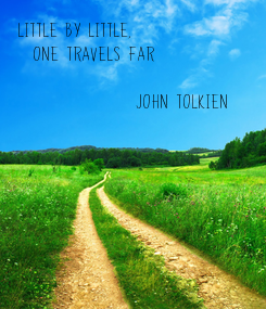 Poster: Little by little, 