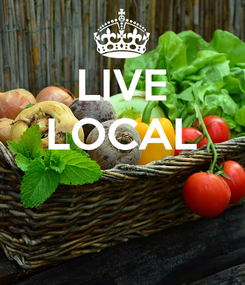 Poster: LIVE LOCAL