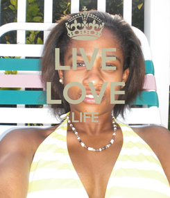 Poster: LIVE LOVE LIFE