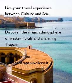 Poster: Live your travel experience