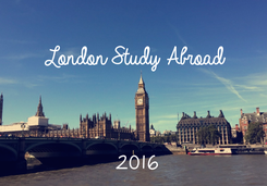 Poster: London Study Abroad    2016