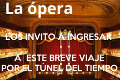 Poster:  LOS INVITO A INGRESAR   A  ESTE BREVE VIAJE POR EL TÚNEL DEL TIEMPO