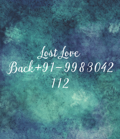 Poster: Lost Love  Back+91-9983042 112