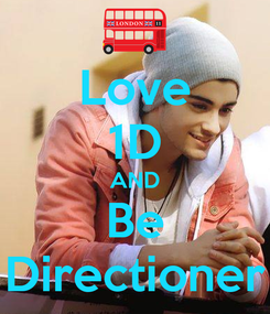 Poster: Love 1D AND Be Directioner