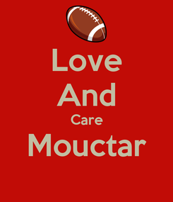 Poster: Love And Care Mouctar