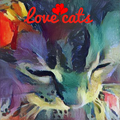 Poster: Love cats