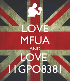 Poster: LOVE MFUA AND LOVE  11GPO8381