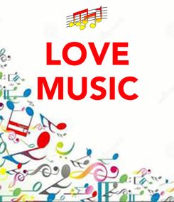 Poster: LOVE MUSIC