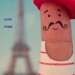 Poster: LOVE  PARIS